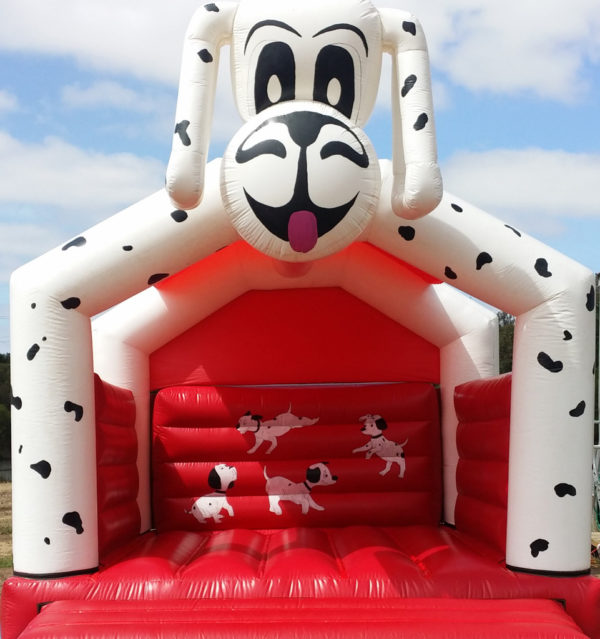 Spotted dog jumping castle hire Geelong
