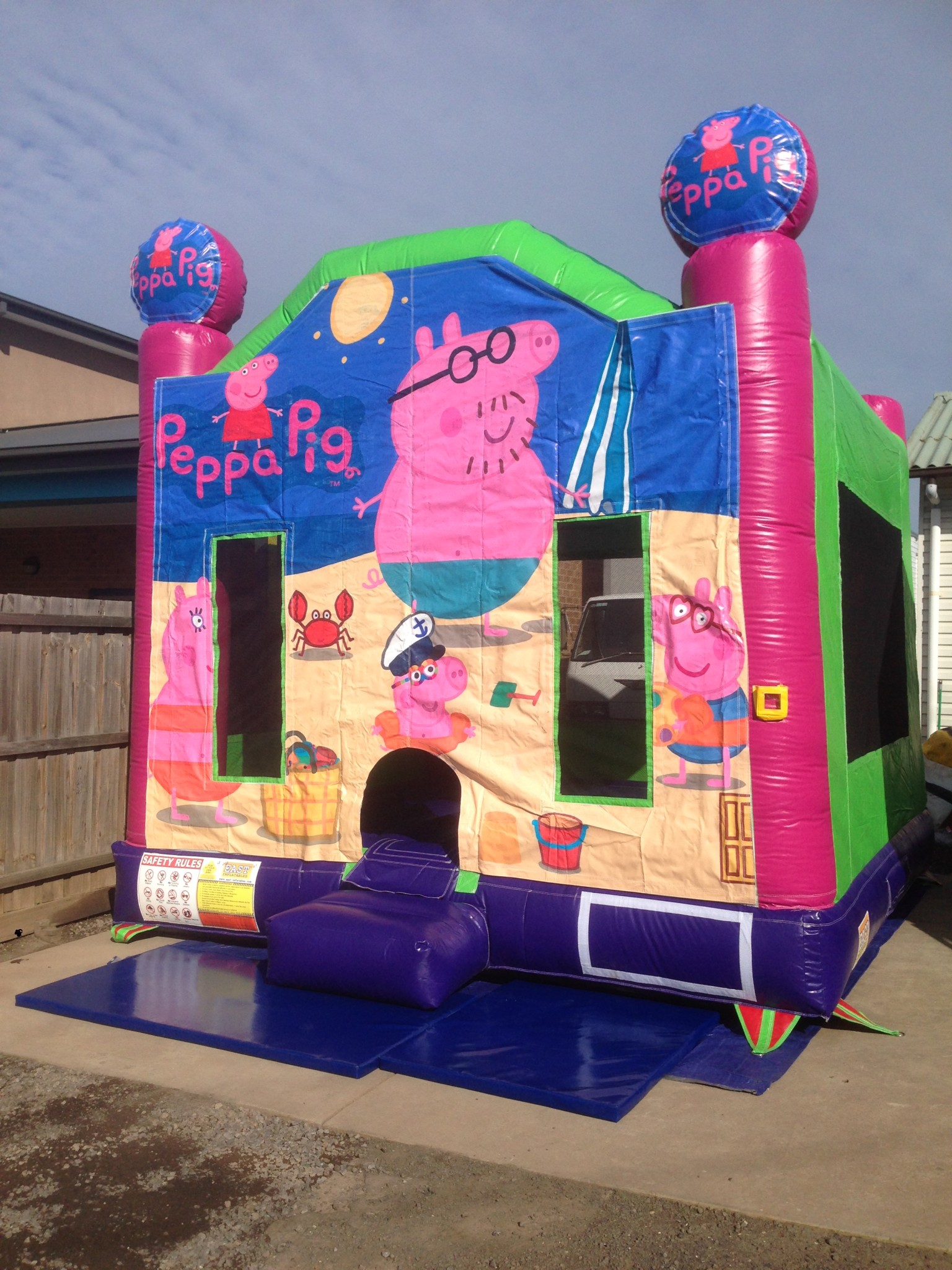 bouncy castle hire Mandurah