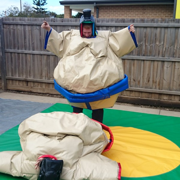 Sumo suit hire Geelong