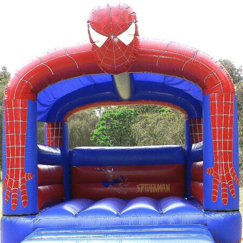 Small spiderman jumping castle hire Geelong
