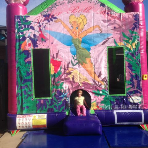 Tinkberbell jumping castle hire Geelong