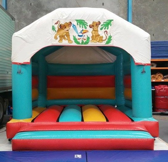 lion king jumping castle
